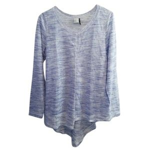 Anthropologie Akemi Kin Space Dye Asymmetrical Top